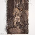 Mother and Child, 2012 --- 30 x 15cm Tapestry